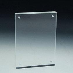 Акрил фото магнитных фокусировочные рамки на петлях двойной режим Picture Frame