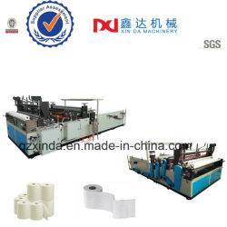 Salle de bains perforé de gros de rembobinage automatique de papier toilette Making Machine