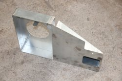 Feuille de métal en acier inoxydable de courbure de tube de métal de gros de goulotte en acier inoxydable réservoir cuve en acier inoxydable support métallique de la fabrication