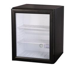 Hôtel Porte en verre dégivrage automatique Mini-bar frigo pour vitrine de Red Bull