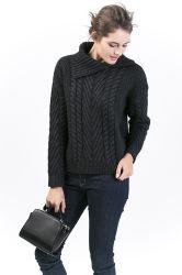 Pull en laine de la femme