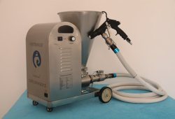 Machine de pulvérisation intelligent pour la pulvérisation du mortier de mise à niveau dans le champ de la Construction