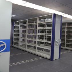 Ripiano Di Massa Mobile In Metallo Con Struttura Ad Abbassamento Dello Storage Di File