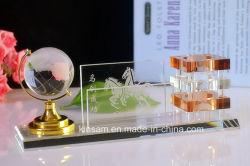 Cristal Porte-plume pour le cristal de la papeterie de bureau défini