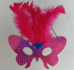 Fashion Dancing Party Feather Mask