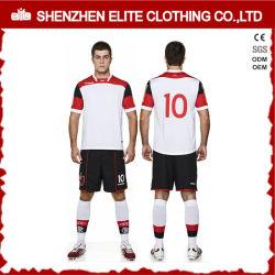 2016 Nuevo Diseño personalizado de fútbol de Dri FIT baratos uniforme (ELTYSJ-86)