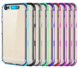 Phone mobile TPU Flashing Caso per iPhone6 Plus Call LED Lighting Caso