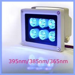 防水380-385nm 6 LED Pest Control紫外線Blacklight Ultraviolet Lights
