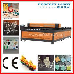 ثاني أكسيد الكربون البلاستيك الصنفرة الخشب لوحة الاسم Acrylic Textil الأنسجة البوليستر المصنوع من الخشب آلة قاطع الليزر