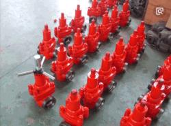 Válvula de compuerta de barro/Válvula tubo/API spec 6A Demco/Cameron Frac FC de alta presión, válvula Válvula de compuerta de barro en el campo petrolífero, Manual o válvula de compuerta hidráulica