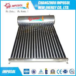 chauffe-eau solaire avec flamme alliage d'aluminium Non-Pressurized