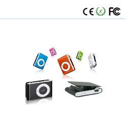 エムピー・スリー音楽プレーヤー小型USBクリップ新しいマイクロSDのカード