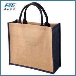 リサイクル可能な新しい材料カスタマイズされた安い価格のトート・ショッピングのジュート・バッグ