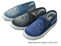 Buoni pattini della scarpa da tennis dei jeans dei pattini casuali dei pattini di tela di canapa dei bambini dell'iniezione del venditore con personalizzato (HH1013-11)