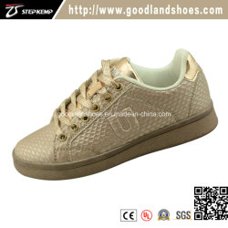 Comercio al por mayor suela suave bebé cómodo niñas/niños zapatos de la Junta Escolar de cuero zapatos Exs-3119