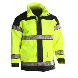 Высокое качество водонепроницаемый Hi по отражающей куртка