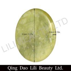 Lilibeautyltd Round Artificial Jade Stone False Eyelash Extension Lijm Adhesive Pallet Pad