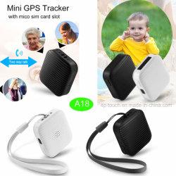 A18を置くリアルタイムの熱い販売小型GPSの追跡者