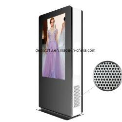 55-дюймовый ЖК-экран для установки вне помещений естественным качеством цифрового видео рекламные вывески плеер