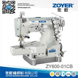 Zy Zoyer600-01CB Petit lit plat haute vitesse machine à coudre de verrouillage