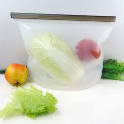 Ensemble de protection de la fraîcheur de silicone réutilisable, sac de rangement des aliments à base de silicone