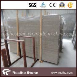 Le café en bois brun en marbre poli de la pierre pour la vente