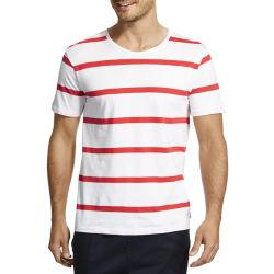 Nova chegada Striped homens impresso T-shirt moda (ZS-6038)