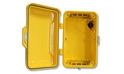 صندوق هاتف الطوارئ، غطاء الهاتف العام، علبة ألوميوم، علبة مضادة للفاندال