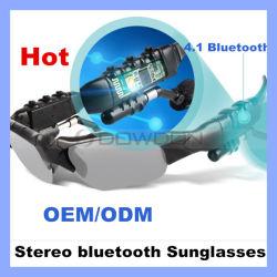 Deporte multifunción 4.0/4.1 Gafas inalámbricas Bluetooth Stereo de música inteligente Teléfono Bluetooth gafas