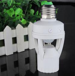 AC 110-220V 적외선 인간 E27 B22 E14 플러그 소켓 스위치 기초 LED 전구 램프 홀더 360 도 PIR 감응작용 운동 측정기 IR