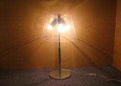 Moderne dekorative drei Birnen mit freier Glasfarbton-Fußboden-Lampe