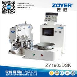 Tasto di Zy1903dsk che attacca macchina per cucire con l'unità d'alimentazione del tasto automatico