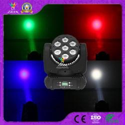 CE RoHS 7X12W DJ 디스코 라이트 움직이는 헤드 빔 LED