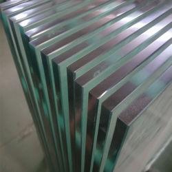 """Schuh-niedriges Glasgeländer mit 1/2 """" monolithische dem ausgeglichenen Glas Panels"""