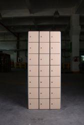 Piccolo dello spazio HPL 7 portelli armadi fenolici della serratura dell'armadio dell'armadio//camma di Cdf/armadio di alluminio della struttura