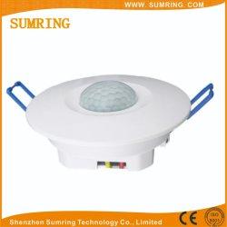 De infrarode In een nis gezette Lichte Schakelaar van de Detector van de Sensor van de Motie van het pir- Plafond voor de Garages van de Kelderverdiepingen van de Badkamerss van Gangen
