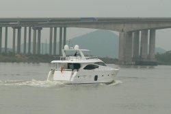 Crogiolo di yacht del lusso della Cina 78FT con i motori del fante di marina di Cummins