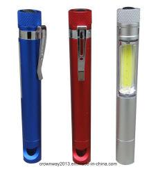 Lanterna de sabugo (DP-3087) Promoção Dons Lanterna Torch Home carro COB luz de caneta