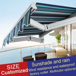 Revestimiento impermeable PU Parasol toldo retráctil