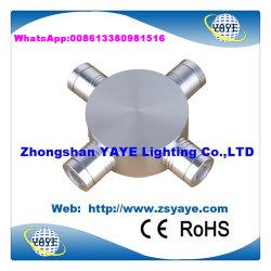 Yaye 18 prix d'usine Hot VENDRE CE/RoHS 2W/3W/4W /6W Lampe LED Intérieur Mur lumière avec 2/3 ans de garantie