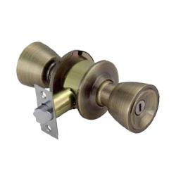 고대 금관 악기 두 배 편들어진 화장실 목욕탕 둥근 손잡이 자물쇠