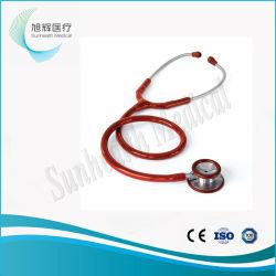 ステンレス鋼の電子診断標準的な二重ヘッド心臓学の医学の聴診器