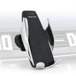 Carregador Carregador Sem Fio carregador de automóvel sem fio Carregador Celular carregador de telemóvel Auto - Sensor de Infravermelhos Cadeira de carga titular para carro S5