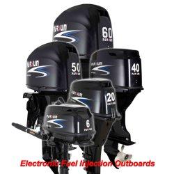 6- 60HP buitenboordmotor met elektronische brandstofinspuiting, compatibel met Yamaha Outboards (China's beste en grootste outboard maket sinds 2005)