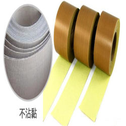 0,13 / 0,18 / 0,25 mm de espesor resistente al calor de PTFE Teflon adhesivo hoja