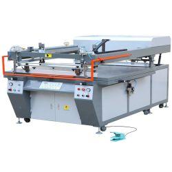 Stampante semi-automatica a grande schermo piatto con braccio obliquo per l'industria del confezionamento