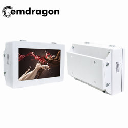 Outdoor Wall Mount Advertising Machine 32 Inch Wall Mount Beugel Lcd Reclame Displayer Led Digital Signage Media Monitor Netwerk Mini Led Monitor