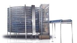 산업용 제과 빵 나선형 냉각 타워 식품용 컨베이어 장비 베이킹