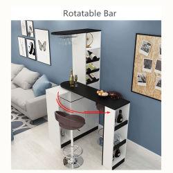 Mini-bar à vin compteur rotatif pour la maison