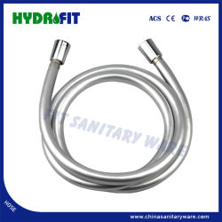 Vendita a caldo 1.5m PVC Silver tubo flessibile doccia tubo flessibile per doccia, Shattaf, bidet (HY6022)